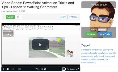 Wealthy Affiliate Powerpoint Training