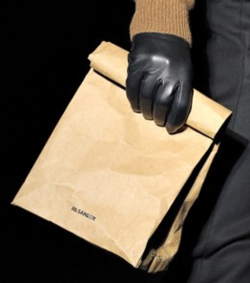 Jil Sander Paper Bag on The Runway