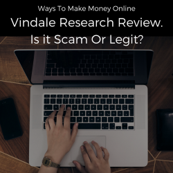 Vindale Research Review Scam or Legit Feature