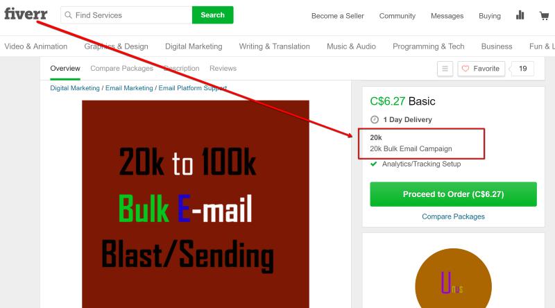 20K Emails Under 10 Dollars