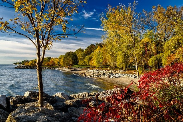 Lake Ontario Canada Autumn