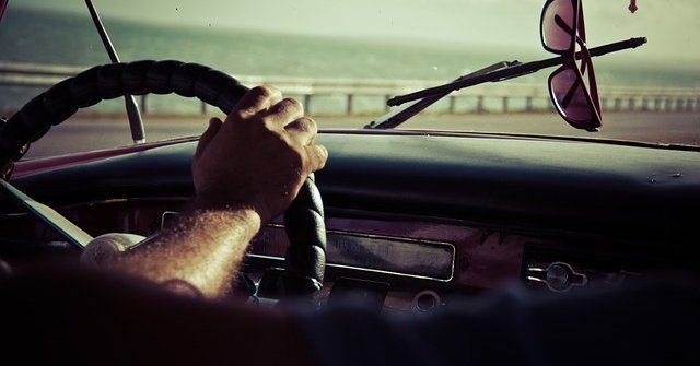 driving and thinking