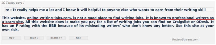 onlinewritingjobs.com is NOT the same as online-writing-jobs.com
