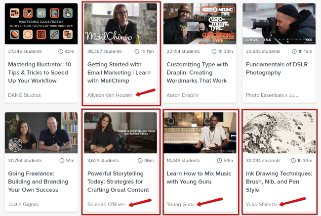 Accomplished Teachers on Skillshare