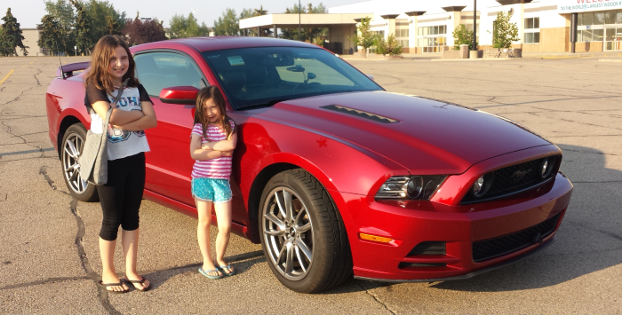J-M with Mustang