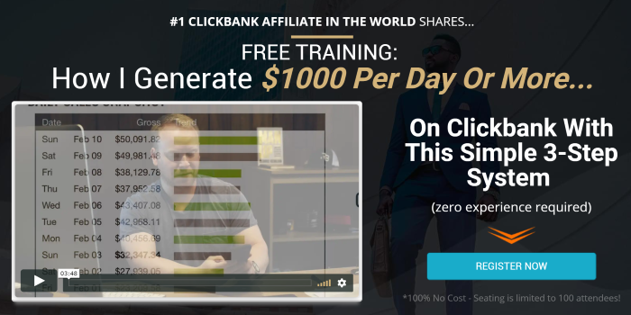 Under 200  Affiliate Marketing Commission Hero