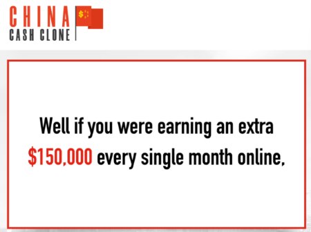 China Cash Clone Review - Is it A SCAM or a Legit $5000 Per Day?