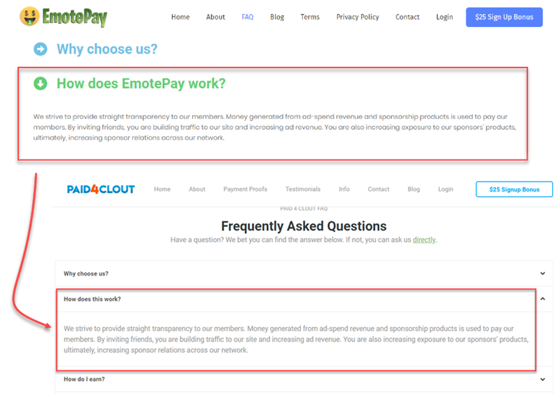 EmotePay same as Paid4Clout