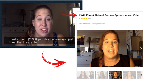 Fake Video Testimonials Example Income Sites Online
