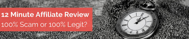 12 Minute Affiliate Review Banner