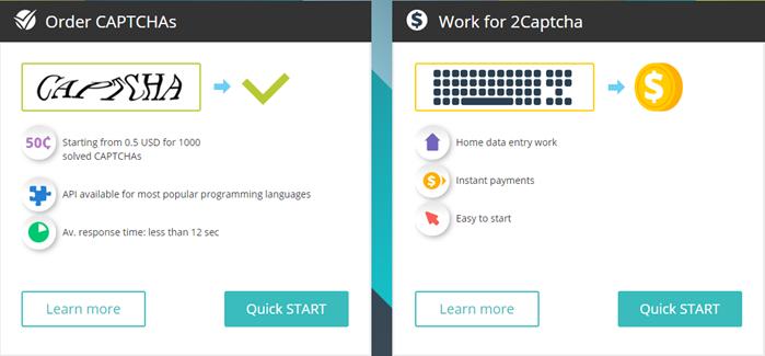 2Captcha Review Register