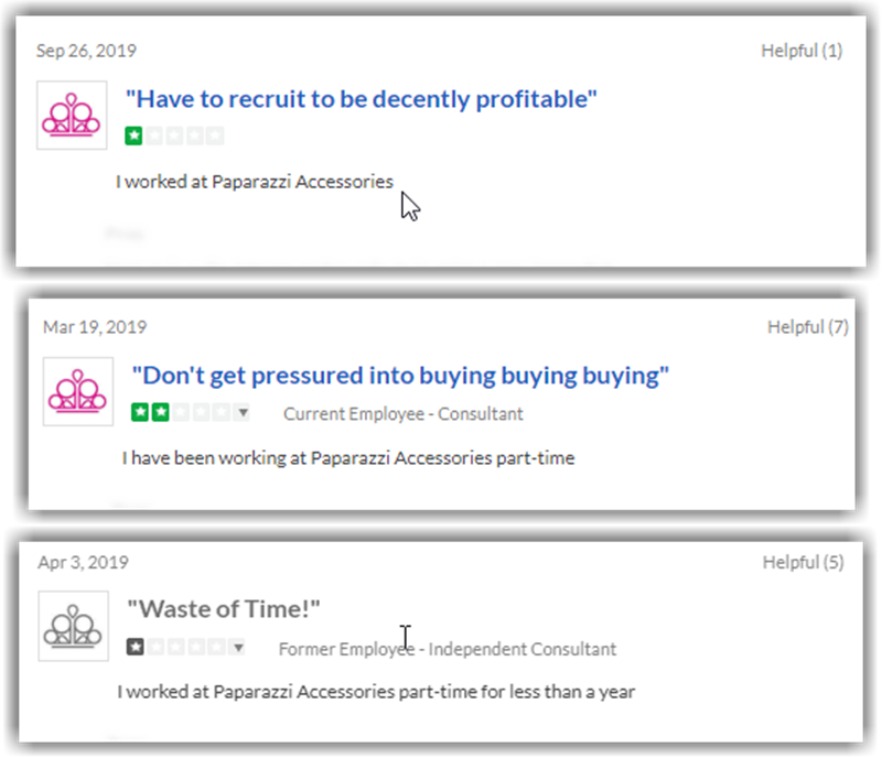 Is Paparazzi Jewelry a Pyramid Scheme Trust Pilot Negative Reviews