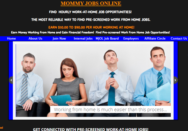Mommy Jobs Online Review Legitimate Work At Home Or A