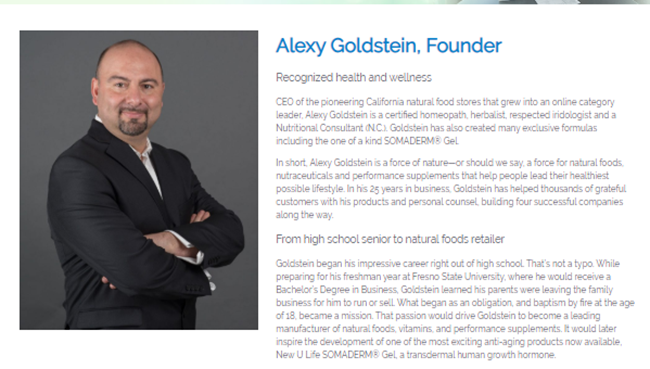 New U Life Review Alexy Goldstein