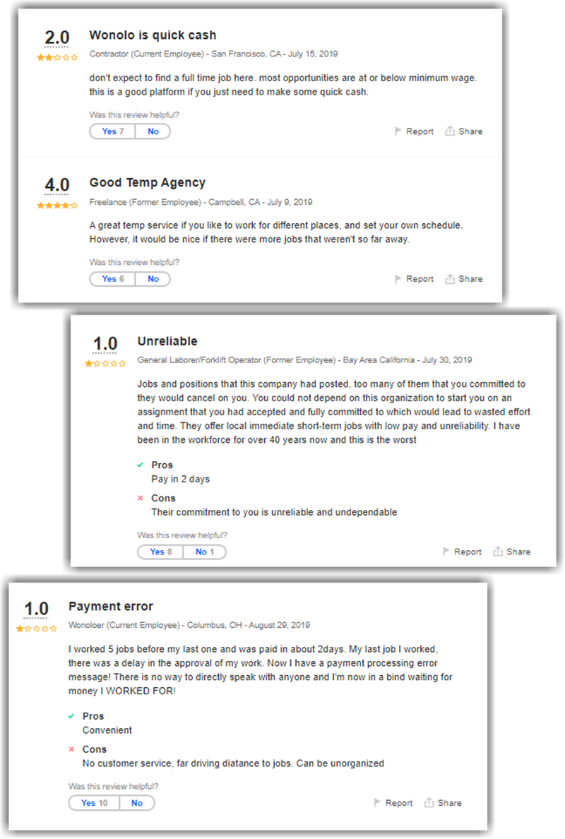 Wonolo Review Indeed Negative Reviews