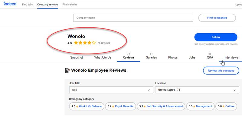 Wonolo Review Indeed Reviews