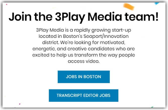 3Play Media Transcription Review Jobs
