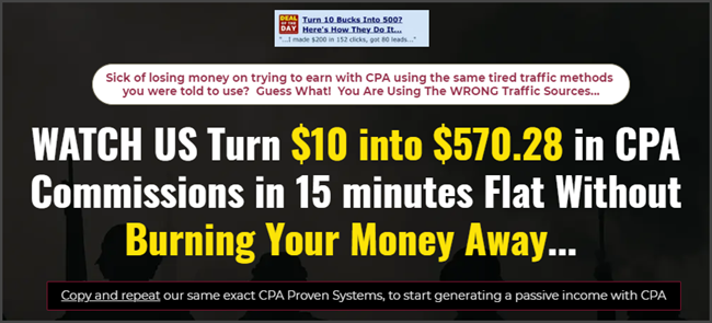 CPA Bootcamp Review Sales Page