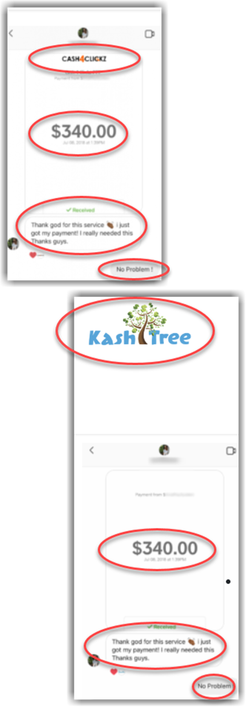 Cash4Clickz Review Fake Proofs of Payment KashTree