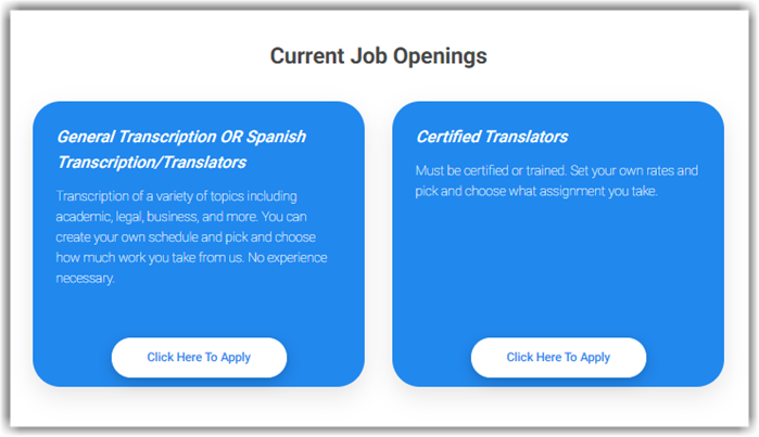 GMR Transcription Review Jobs