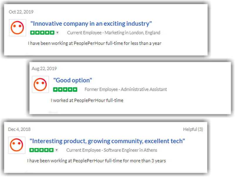 People Per Hour Review Glassdoor Positive Reviews