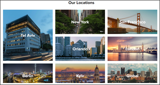 Fiverr Review Locations