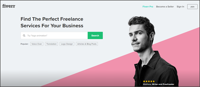 Fiverr Review Official Site