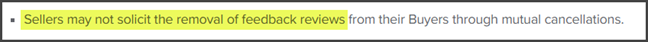 Fiverr Review Removal of Feedback