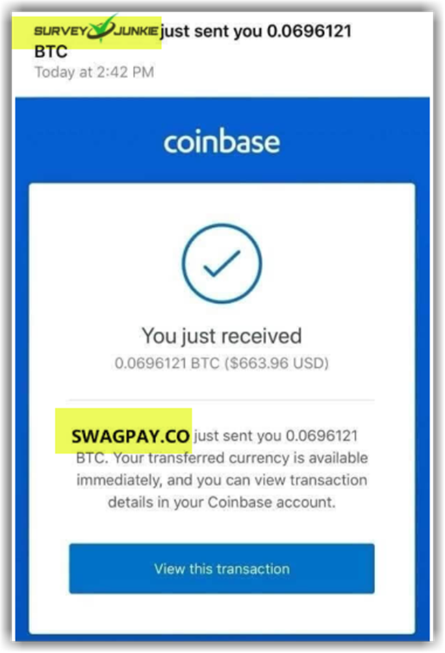 SurveyJunkies Review Fake Payment Proofs SwagPay