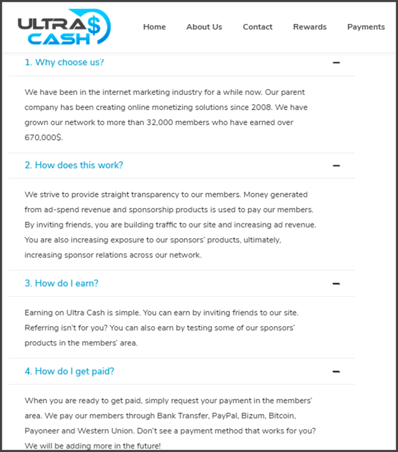 Ultra Cash Review FAQs