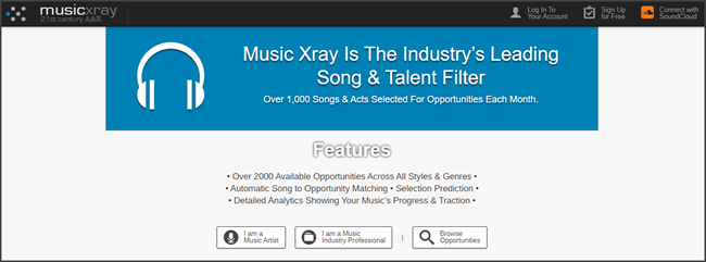 Music Xray Review Official Site