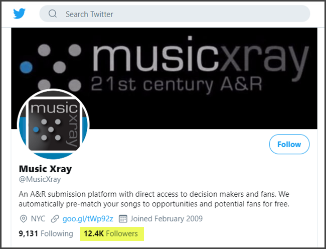 Music Xray Review Twitter