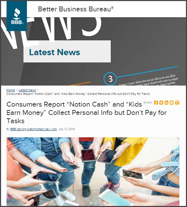 NextCash Review BBB Consumers Report