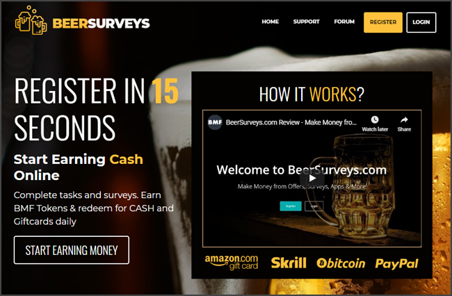BeerSurveys Review Official Site