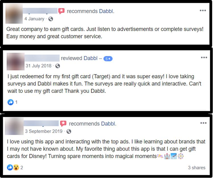 Dabbl App Review Reviews and Complaints Positive