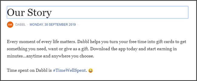 Dabbl App Review What Is