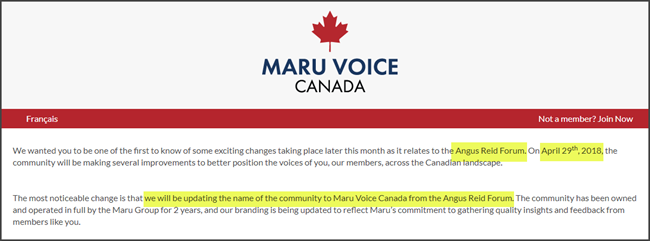 Maru Voice Canada Review Angus Reid Forum