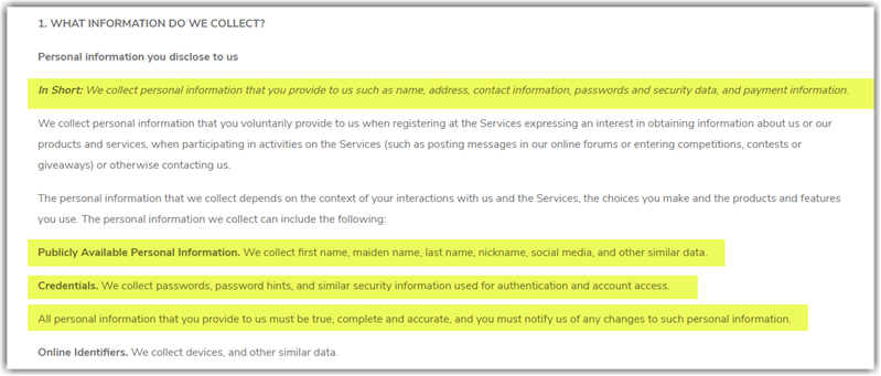PlentyBread Review Privacy Policy