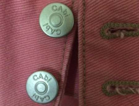 CAbi Jacket Buttons