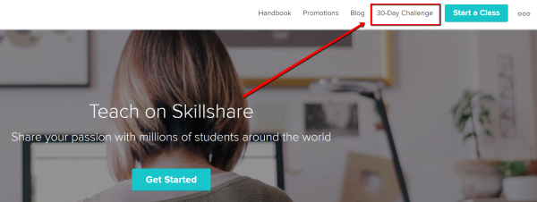 30 Day Challenge-Skillshare Teachers