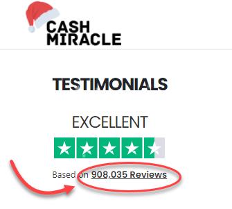 CashMiracle Fake Reviews