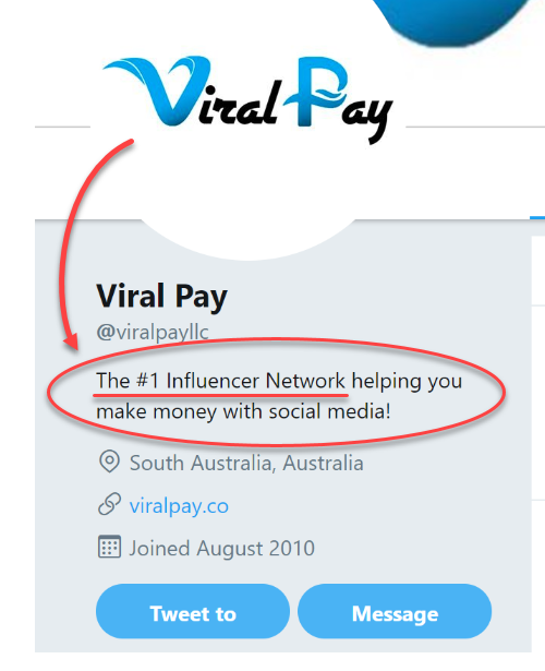 Related ViralPay Scam