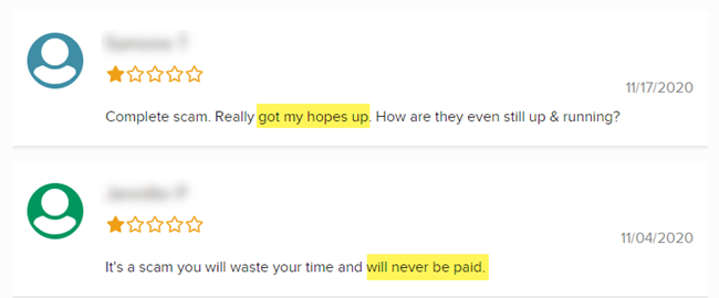RewardsFeed Reviews BBB Users Not Getting Paid