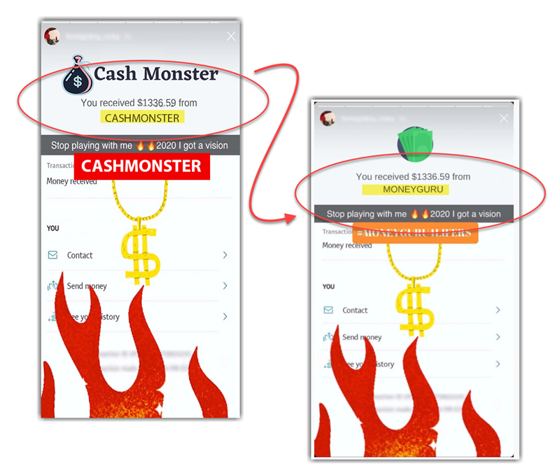 Cash Monster Fake Payment Proof 3