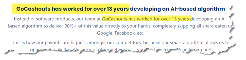 GoCashouts History and Startup