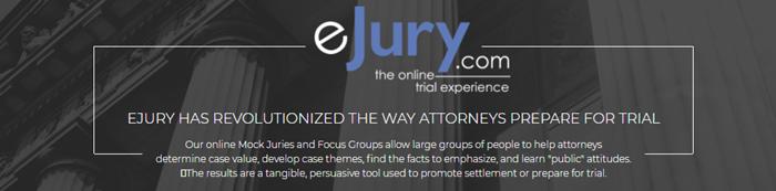 eJury homepage