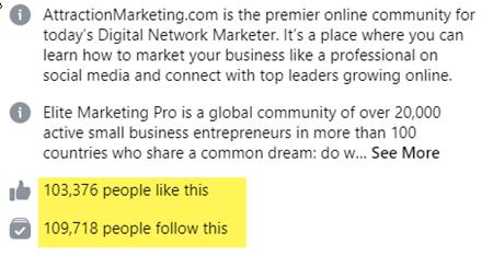 Elite Marketing Pro FB Home