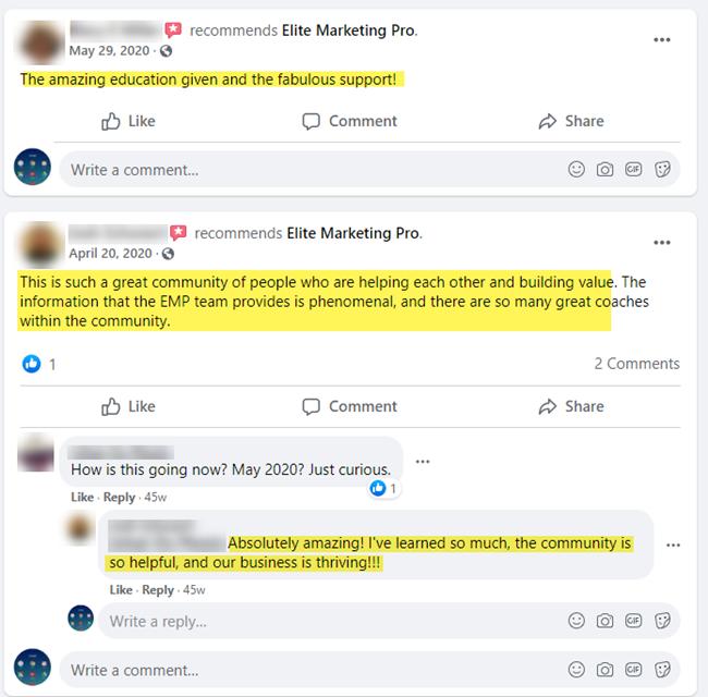Elite Marketing Pro reviews