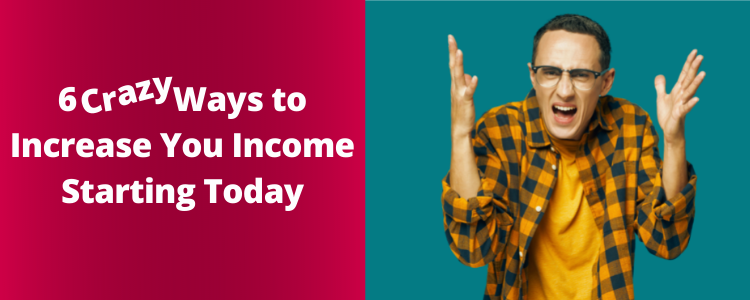 Increase Your Income Today Banner