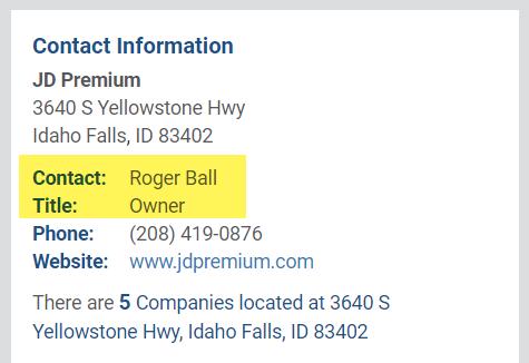 Roger Ball JD Premium